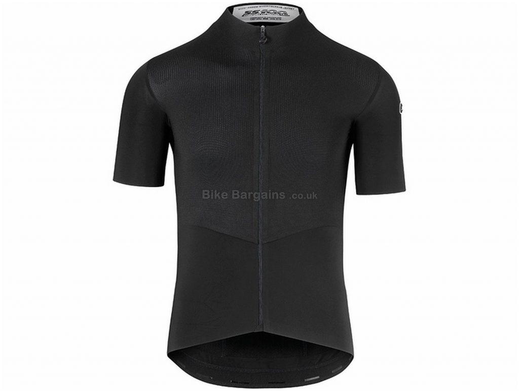 Assos Cento Evo8 Short Sleeve Jersey XL, Black, Men's, Short Sleeve, Polyamide, Polyester, Elastane