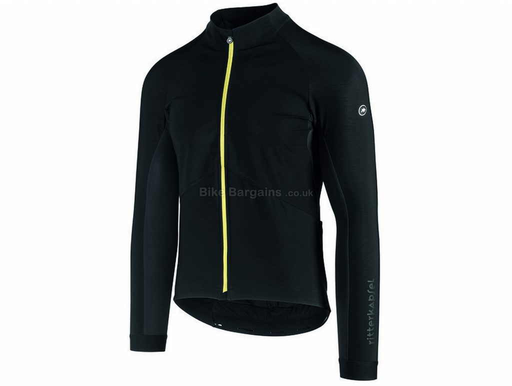 Assos Mille GT Spring Fall Jacket S, Black, Men's, Long Sleeve, Polyester, Elastane