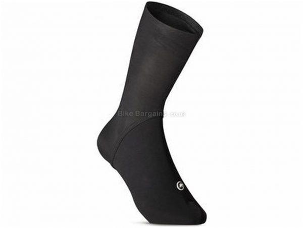 Assos Spring Fall Booties Overshoes M,L, Black, Unisex, Polyamide, Elastane