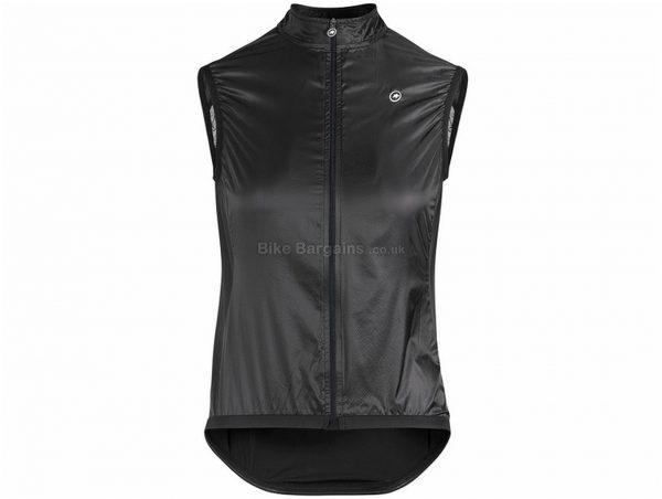 Assos Uma GT Ladies Wind Gilet M,XL, Black, Ladies, Sleeveless, Polyester