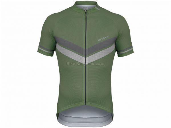 De Marchi Granturismo 75th Anniversary Edition Short Sleeve Jersey S, Black, Short Sleeve, Men's, Polyester