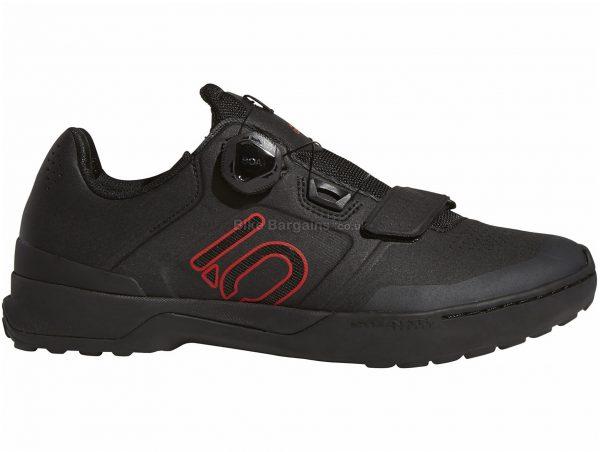 Five Ten Kestrel Pro Boa MTB Shoes 40,41,42,45, Orange, Black, Velcro & Boa Fastening, Men's, Rubber, Velcro, EVA
