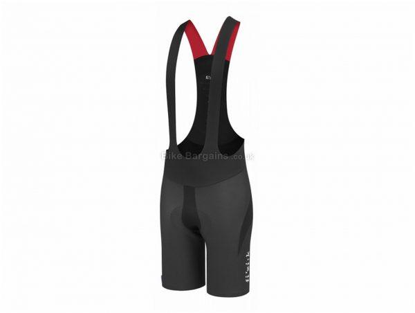 Fizik Link R1 Snake Bib Shorts S,XXL, Black, 155g, Polyester, Elastane