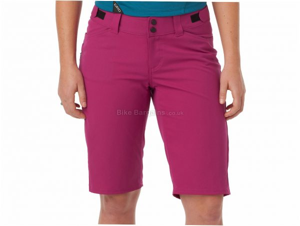 Giro Ladies Arc Shorts S, Pink, Baggy, Ladies, Polyester