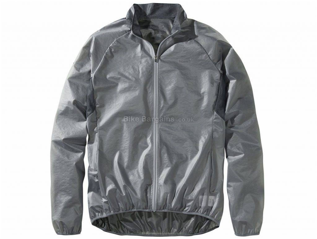 Howies Clearim Jacket M, Grey, Men's, Long Sleeve, Polyester