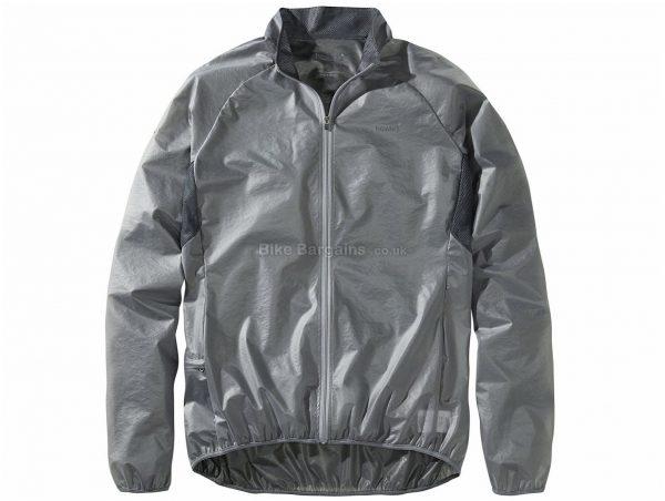 Howies Clearim Jacket M, Grey, Men's, Long Sleeve, Polyester