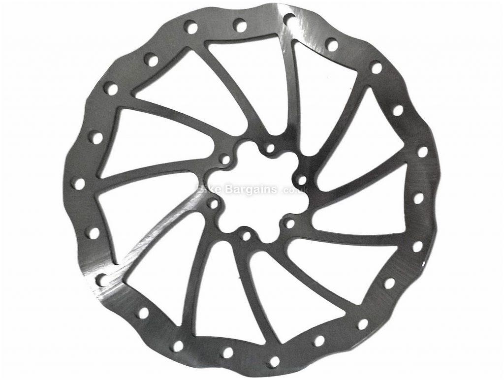 Magura Louise Disc Brake Rotor 180mm, 6 bolt, Silver, Steel