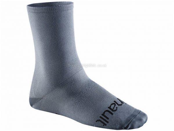 Mavic Bernard Hinault Ltd High Socks S,M, Grey, Unisex, Polyamide, Elastane
