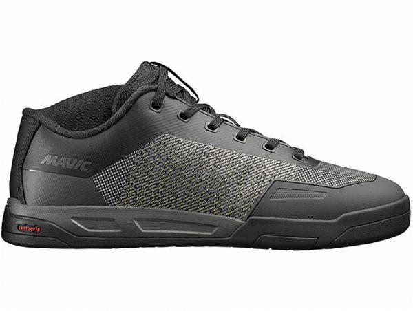 Mavic Deemax Pro Flat MTB Shoes 39, Black, Grey, Men's, Laces, Kevlar, Polyester, Polyamide