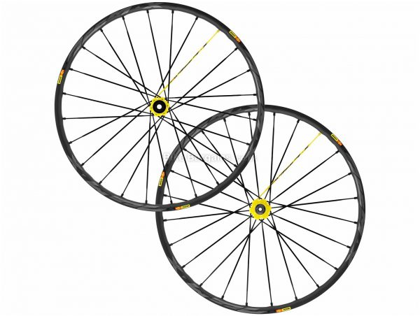 "Mavic Deemax Pro MTB Wheels 27.5"", SRAM, Front & Rear, Black, Alloy"