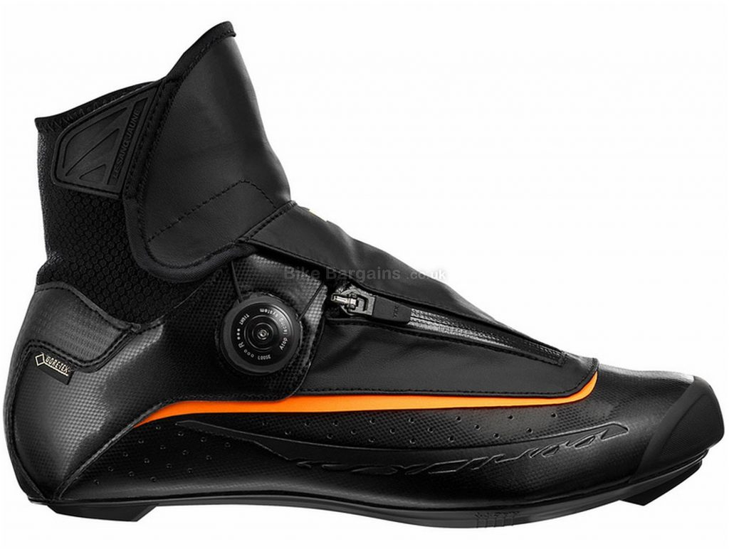 Mavic Ksyrium Pro Thermo Road Shoes 41, Black, Boa & Zip Fastening, 365g, Neoprene, Nylon