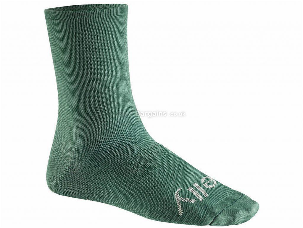Mavic Sean Kelly Ltd High Socks S,M,L, Green, Unisex, Polyamide, Elastane