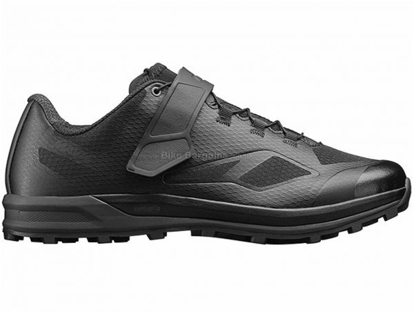 Mavic XA Elite II MTB Shoes 39, Green, Black, Men's, Laces, Velcro, Rubber, Velcro