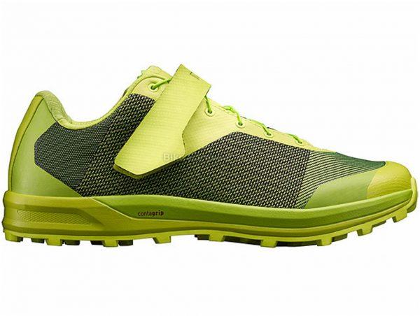 Mavic XA Matryx MTB Shoes 38, Green, Black, Grey, Men's, Laces, Velcro, EVA, Rubber