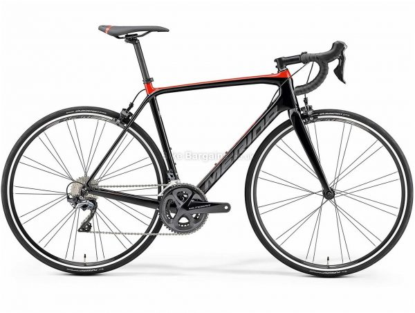 Merida Scultura Limited Carbon Road Bike 2019 M,L, Black, Red, Carbon Frame, 22 Speed, Caliper Brakes, Double Chainring, 700c wheels
