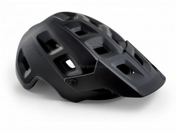 Met Terranova MIPS Helmet S, Black, 17 vents, Polycarbonate