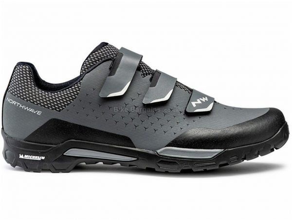 Northwave X-Trail MTB Shoes 45, Grey, Black, Velcro Fastening, Rubber, EVA
