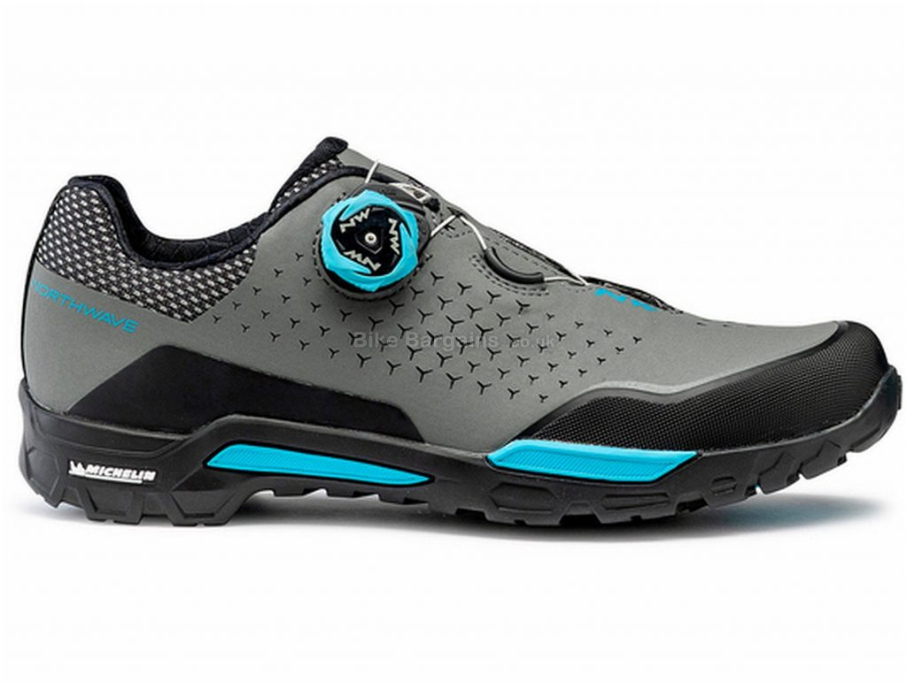 Northwave X-Trail Plus Ladies MTB Shoes 36,38, Black, Blue, Grey, Boa Fastening, Rubber, EVA