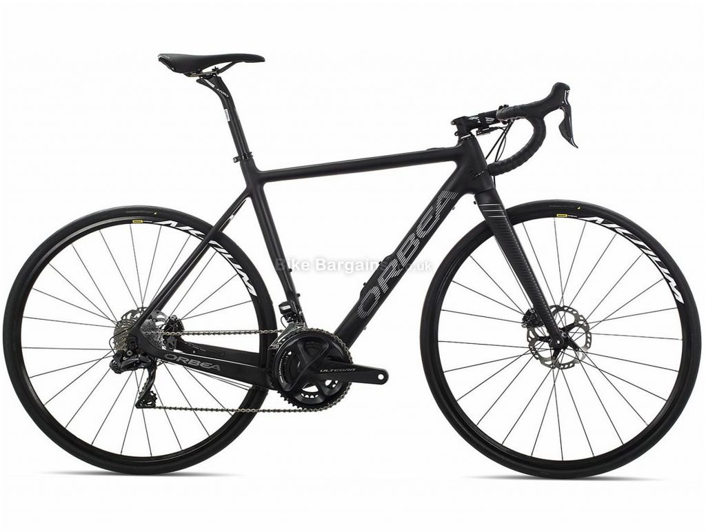 Orbea Gain M20i Carbon Electric Road Bike 2019 S, Black, Grey, Carbon Frame, 22 Speed, Disc Brakes, Double Chainring, 700c wheels