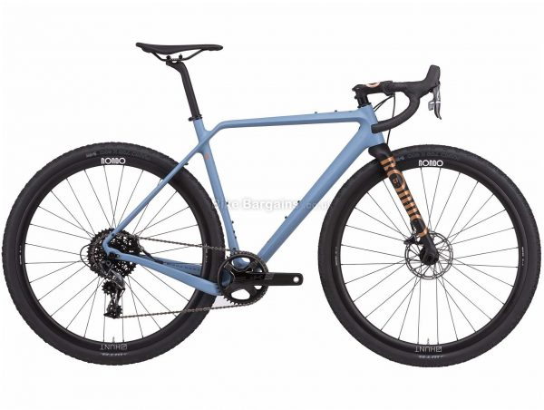 Rondo Ruut CF Zero Gravel Bike 2020 XL, Blue, Black, Carbon Frame, 11 Speed, 700c Wheels, Single Chainring, Disc Brakes