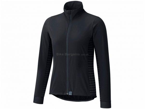 Shimano Ladies Sumire Windbreak Jacket L, Black, Ladies, Long Sleeve, Polyester