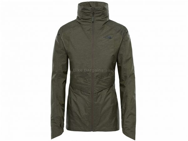 The North Face Ladies Inlux Dryvent Jacket XL, Brown, Ladies, Long Sleeve, Polyester