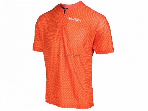 Troy Lee Designs Terrain Short Sleeve Jersey S, Black, Men's, Short Sleeve, Polyester