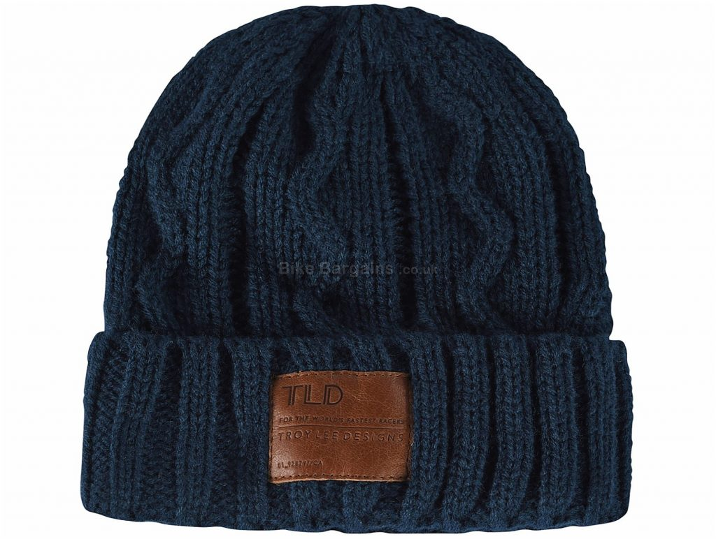 Troy Lee Designs Victory Beanie One Size, Blue, Men's, Ladies, Acrylic