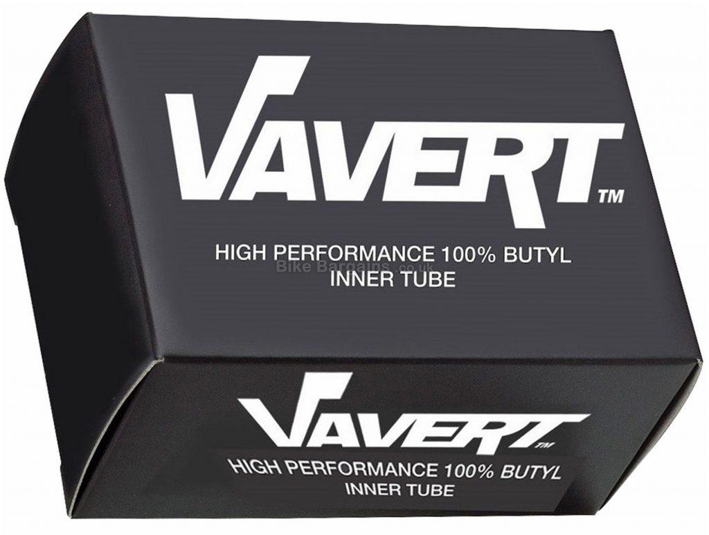 """Vavert 26"""" MTB Inner Tube 26"""", Schrader, 40mm, Black, Butyl"""