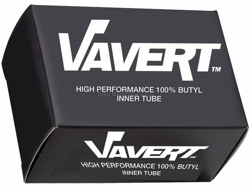 "Vavert 29"" MTB Inner Tube 29"", Presta, 48mm, Black, Butyl"