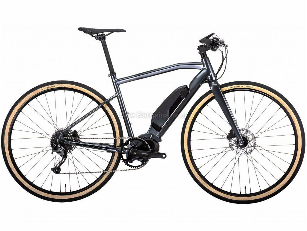 Vitus Mach E Alivio Urban Electric Bike 2020 M,L, Grey, Alloy Frame, 9 Speed, 700c Wheels, Single Chainring, Disc Brakes, 17.3kg