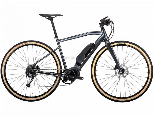 Vitus Mach E Alivio Urban Electric Bike 2020 L, Grey, Alloy Frame, 9 Speed, 700c Wheels, Single Chainring, Disc Brakes, 17.3kg