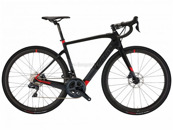 Wilier Cento 10 Hybrid Ultegra Di2 NDR30 Carbon Electric Road Bike 2019 M, Black, Grey, Red, Carbon Frame, 700c wheels, 22 Speed, Double Chainring, Disc Brakes