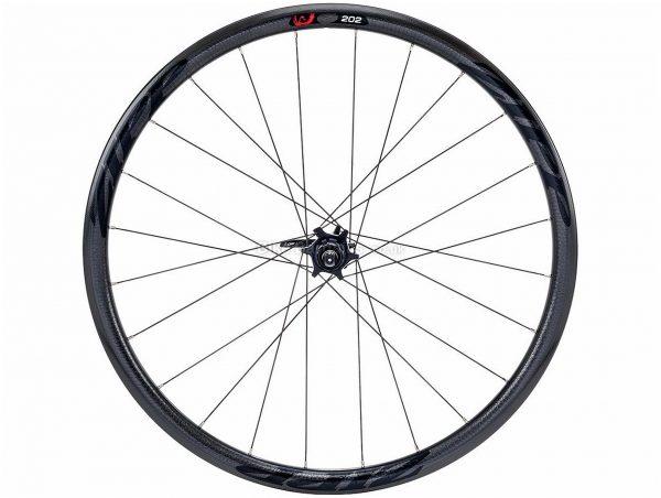 Zipp 202 Clincher Disc Rear Road Wheel 700c, Rear, Black, 705g, Carbon