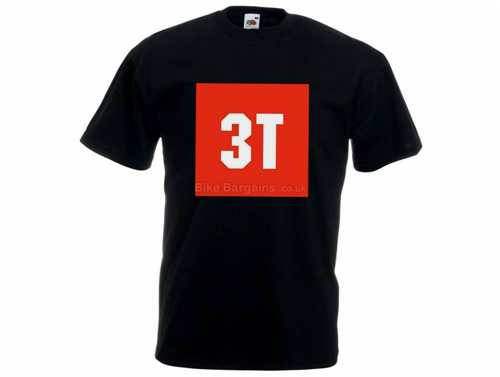 3T Saddleback T-Shirt XXL, Black, Short Sleeve, Cotton