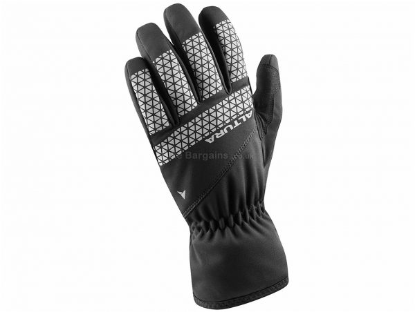 Altura Nightvision V Waterproof Gloves XS,S,M,L,XL,XXL, Black, Red, Blue, Yellow, Full Finger, Suede, Silicone, Polyester