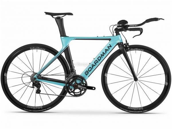 Boardman Elite ATT 9.0 Ladies Road Bike 2019 M, Turquoise, Black, Carbon Frame, 22 Speed, 700c Wheels, Caliper Brakes