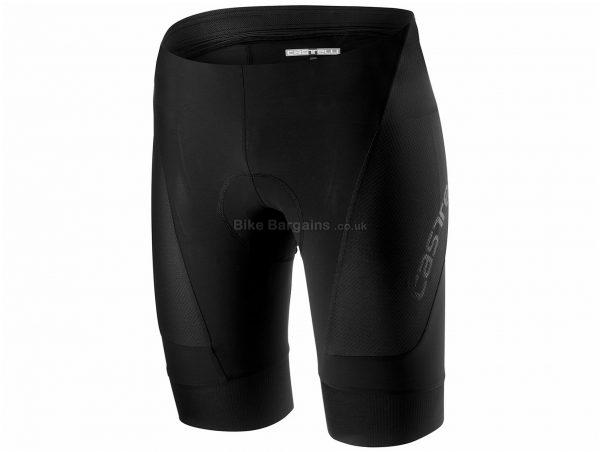 Castelli Endurance 2 Shorts XL, Black, Men's, Lycra