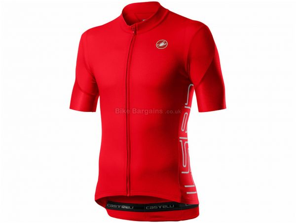 Castelli Entrata V Short Sleeve Jersey XS, Green, Men's, Short Sleeve, Weighs 157g, Polyester, Elastane