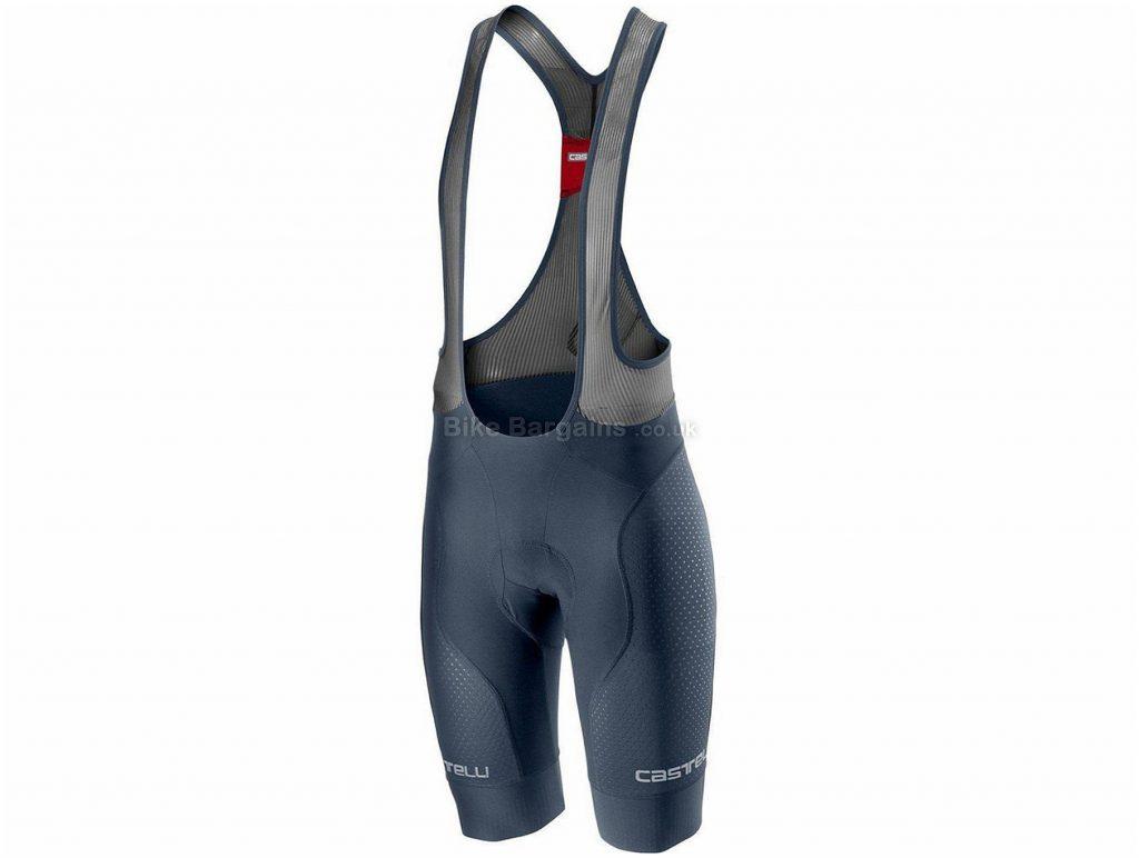 Castelli Free Aero Race 4 Team Bib Shorts XXXL, Black, Men's, Lycra