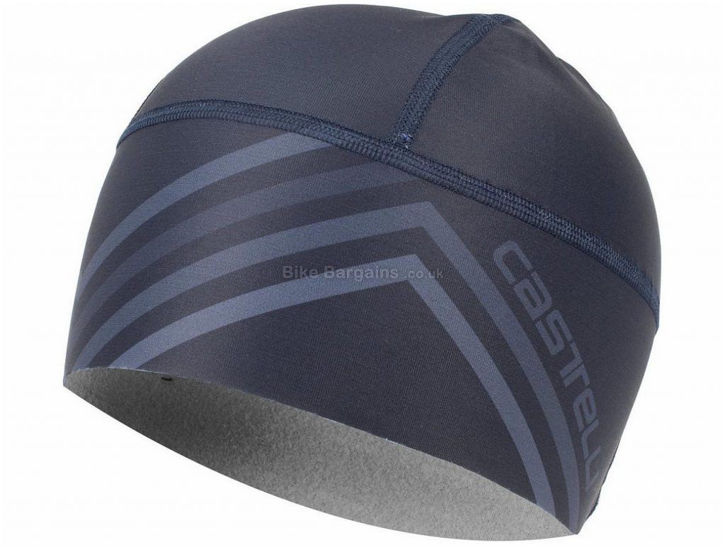 Castelli Ladies Viva 2 Thermo Skully One Size, Blue, Grey, Red, Ladies, Polyester