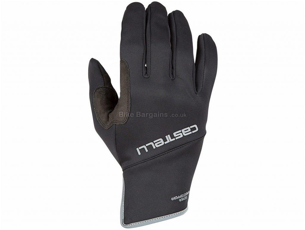 Castelli Scalda Pro Gloves 2019 XS, Red, Black, Blue, Full Finger, 73g