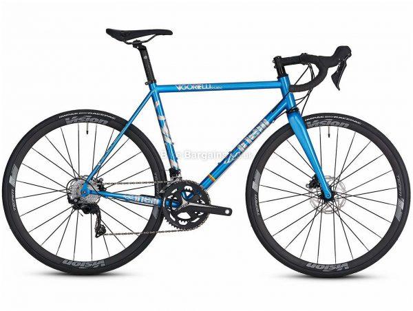 Cinelli Vigorelli Disc 105 Hydro Steel Road Bike 2020 S, Blue, 9.6kg, Steel Frame, 22 Speed, 700c wheels, Double Chainring, Disc Brakes,