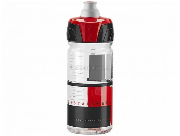 Elite Crystal Ombra Membrane 550ml Water Bottle 550ml, Transparent, Blue, Red, Polyethylene