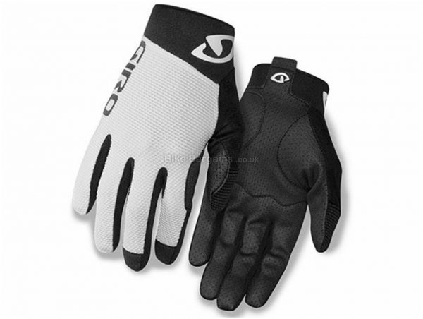Giro Rivet II Gloves XXL, White, Black, Full Finger, Polyester, Velcro