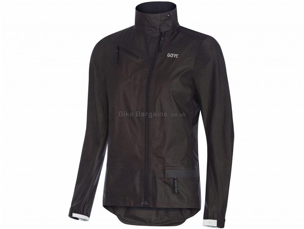 Gore Ladies C5 Gore-Tex Shakedry Jacket XS,S,M, Black, Ladies, Long Sleeve, 131g, Polyamide