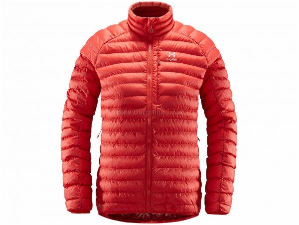 Haglofs Ladies Essens Mimic Jacket XL, Red, Ladies, Long Sleeve, Polyamide