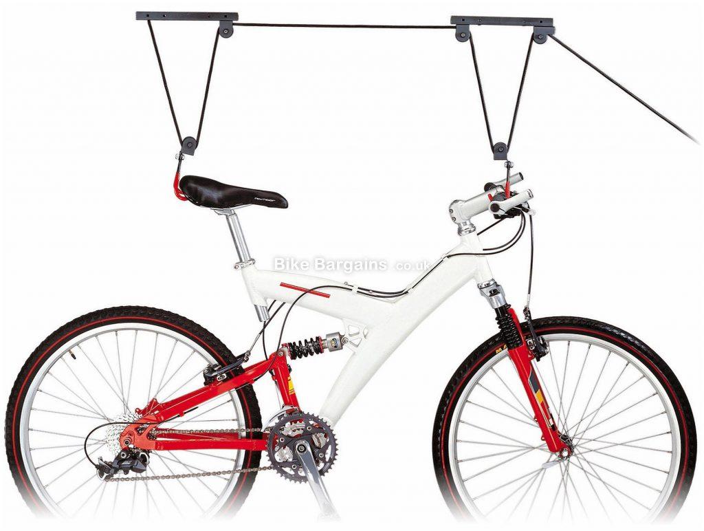 IceToolz Bike Storage Lift One Size, Black, 25kg limit, Steel, Plastic
