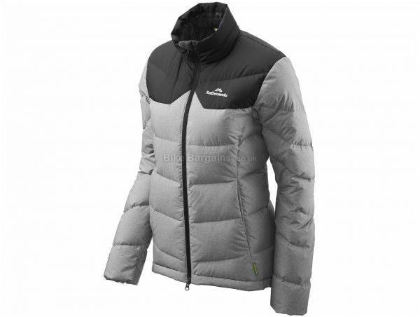 Kathmandu Ladies Epiq Jacket 16, Grey, Black, Ladies, Long Sleeve, Nylon, Polyester