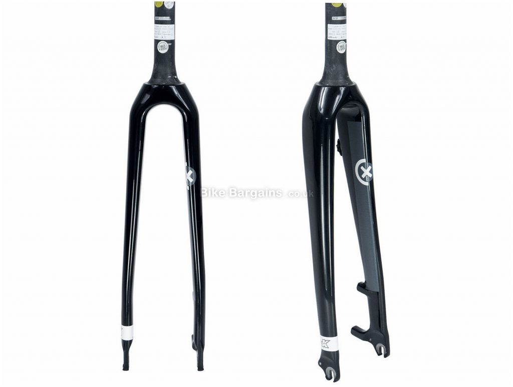 Kinesis Crosslight CXD Carbon Forks Tapered, 700c, Black, Disc, 500g, Carbon